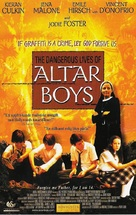 The Dangerous Lives of Altar Boys - Swedish DVD cover (xs thumbnail)