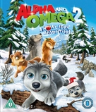 Alpha and Omega 2: A Howl-iday Adventure - British Blu-Ray movie cover (xs thumbnail)