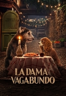 Lady and the Tramp - Argentinian Movie Cover (xs thumbnail)