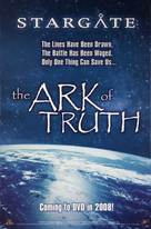 Stargate: The Ark of Truth - Video release poster (xs thumbnail)