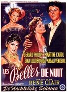 Les belles de nuit - Belgian Movie Poster (xs thumbnail)