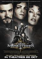 The Three Musketeers - Singaporean Movie Poster (xs thumbnail)