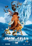 Ice Age: Continental Drift - Portuguese Movie Poster (xs thumbnail)