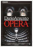 Opera - Italian Movie Poster (xs thumbnail)
