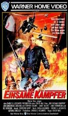 Choke Canyon - German VHS movie cover (xs thumbnail)