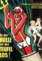 Hellzapoppin - German Movie Poster (xs thumbnail)