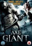 Axe Giant: The Wrath of Paul Bunyan - British DVD cover (xs thumbnail)