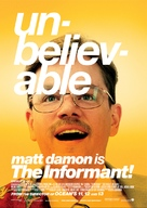 The Informant - Swedish Movie Poster (xs thumbnail)
