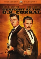 Gunfight at the O.K. Corral - DVD cover (xs thumbnail)