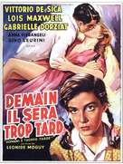 Domani è troppo tardi - French Movie Poster (xs thumbnail)
