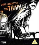 The Train - British Blu-Ray movie cover (xs thumbnail)