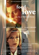 Food of Love - Danish Movie Poster (xs thumbnail)