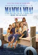 Mamma Mia! Here We Go Again - Movie Poster (xs thumbnail)