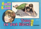 All in a Night's Work - Spanish Movie Poster (xs thumbnail)