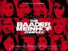 Der Baader Meinhof Komplex - British Movie Poster (xs thumbnail)