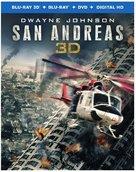 San Andreas - Blu-Ray movie cover (xs thumbnail)