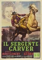 The Texas Rangers - Italian Movie Poster (xs thumbnail)