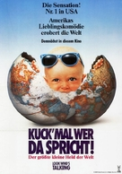 Look Who's Talking - German Movie Poster (xs thumbnail)