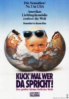 Look Who's Talking - German Movie Poster (xs thumbnail)