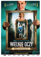 Big Eyes - Polish Movie Poster (xs thumbnail)