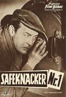 The Safecracker - German poster (xs thumbnail)