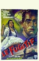 The Fugitive - Belgian Movie Poster (xs thumbnail)
