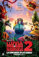 Cloudy with a Chance of Meatballs 2 - Chilean Movie Poster (xs thumbnail)