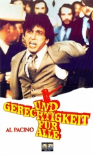 ...And Justice for All - German VHS movie cover (xs thumbnail)