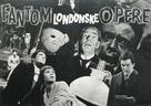 The Phantom of the Opera - Yugoslav poster (xs thumbnail)