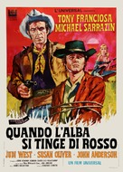 A Man Called Gannon - Italian Movie Poster (xs thumbnail)