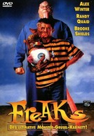 Freaked - German DVD cover (xs thumbnail)