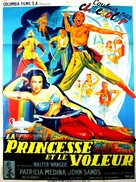 Aladdin and His Lamp - French Movie Poster (xs thumbnail)