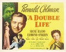 A Double Life - Movie Poster (xs thumbnail)