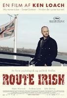 Route Irish - Danish Movie Poster (xs thumbnail)