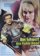 Sword of Sherwood Forest - German Movie Poster (xs thumbnail)
