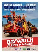 Baywatch - French Movie Poster (xs thumbnail)
