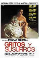Viskningar och rop - Spanish Movie Poster (xs thumbnail)