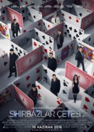Now You See Me 2 - Turkish Movie Poster (xs thumbnail)