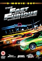 The Fast and the Furious - British DVD cover (xs thumbnail)