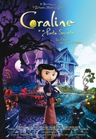 Coraline - Portuguese Movie Poster (xs thumbnail)