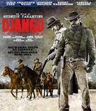Django Unchained - Italian Blu-Ray cover (xs thumbnail)