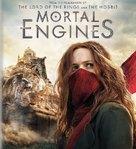 Mortal Engines - Blu-Ray movie cover (xs thumbnail)