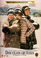 Grumpy Old Men - Argentinian Movie Poster (xs thumbnail)