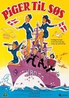 Piger til søs - Danish DVD cover (xs thumbnail)