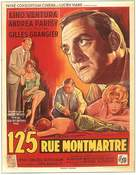 125 rue Montmartre - Belgian Movie Poster (xs thumbnail)