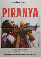 Piranha Part Two: The Spawning - Romanian Movie Poster (xs thumbnail)