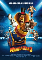 Madagascar 3: Europe's Most Wanted - Swedish Movie Poster (xs thumbnail)