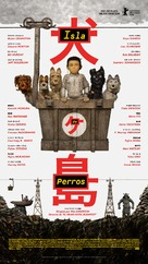 Isle of Dogs - Spanish Movie Poster (xs thumbnail)