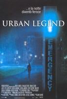 Urban Legend - Italian Movie Poster (xs thumbnail)