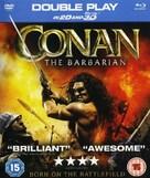 Conan the Barbarian - British Blu-Ray movie cover (xs thumbnail)